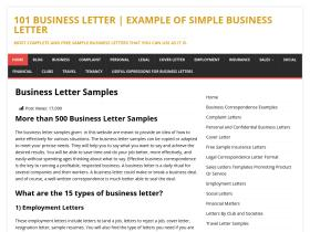 101businessletter.com