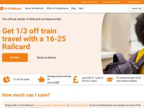 16-25railcard.co.uk