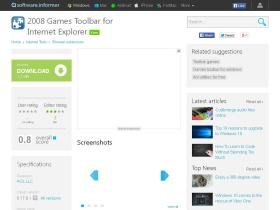 2008-games-toolbar-for-internet-explorer.software.informer.com