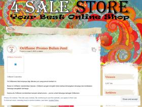 4salestoreblog.wordpress.com