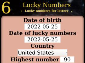 6luckynumbers.com