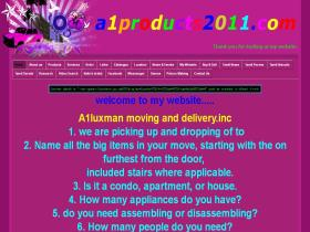 a1products2011.com