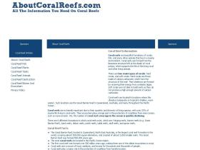 aboutcoralreefs.com