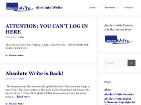 absolutewrite.com
