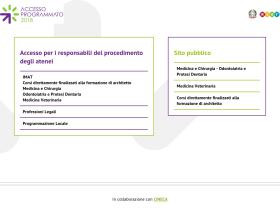 accessoprogrammato.cineca.it