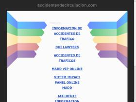 accidentesdecirculacion.com