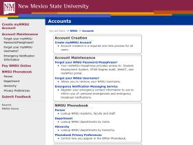 accounts.nmsu.edu
