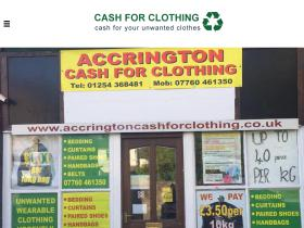 accringtoncashforclothing.co.uk
