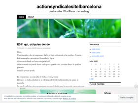 actionsyndicalesitelbarcelona.wordpress.com