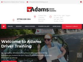 adamsdrivertraining.co.uk