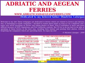 adriaticandaegeanferries.com