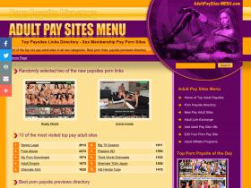 adultpaysites-menu.com