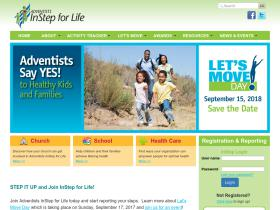 adventistsinstepforlife.com