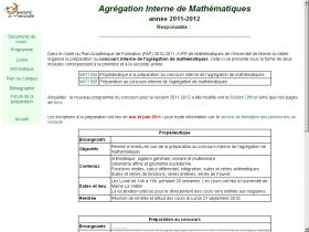 agreg-math.univ-mlv.fr
