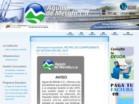 aguasdemerida.com.ve