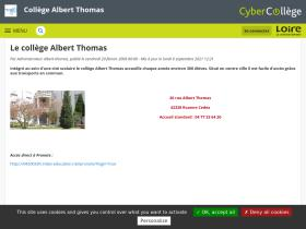 albert-thomas.cybercolleges42.fr