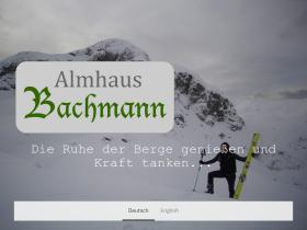 almhaus-bachmann.at