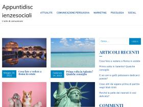 appuntidiscienzesociali.it