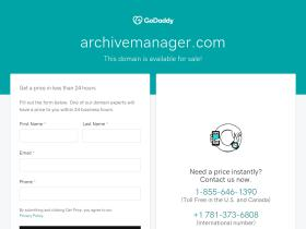archivemanager.com
