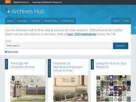 archiveshub.ac.uk