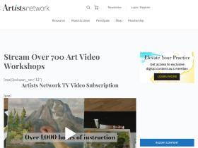 artistsnetwork.tv