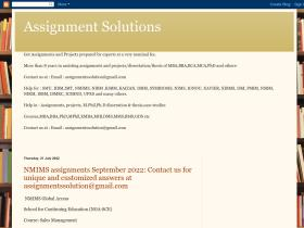 assignmentssoultion-smu.blogspot.in