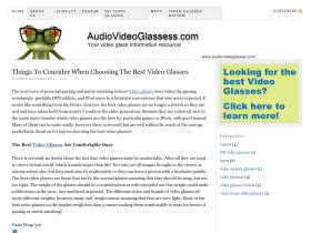 audiovideoglasses.com