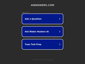 awnswers.com
