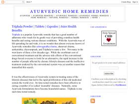 ayurvedichomeremedies.blogspot.in