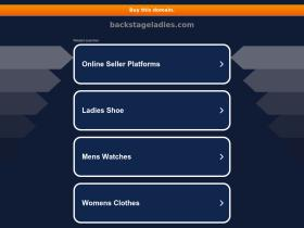 backstageladies.com