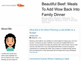 backtonaturebeef.com