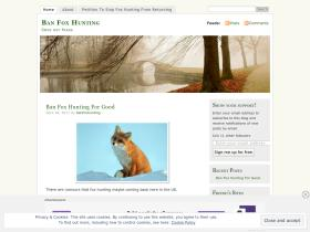 banfoxhunting.wordpress.com