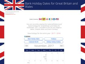 bankholidaydates.co.uk