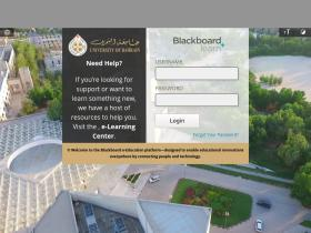 Blackboard learn uob