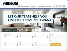 benhamrealestategroup.com
