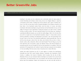 bettergreenvillejobs.net