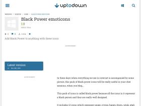 black-power-emoticons.en.uptodown.com