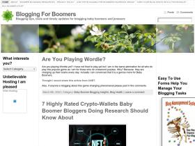bloggingforboomers.com