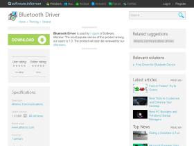 bluetooth-driver.software.informer.com