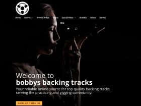 bobbysbackingtracks.com