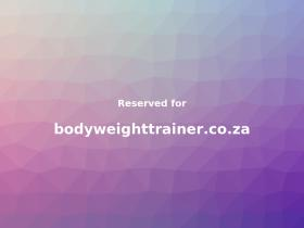 bodyweighttrainer.co.za