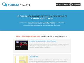 bourgogne-detection.forumpro.fr