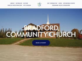 bradfordcommunitychurch.com