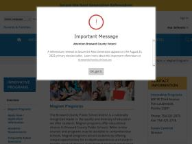 browardschoolsmagnetprograms.com