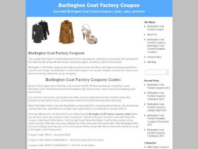 burlingtoncoatfactorycoupon.com