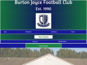 burtonjoycejfc.co.uk