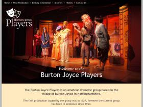 burtonjoyceplayers.co.uk