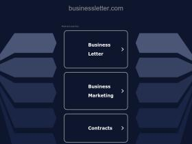businessletter.com