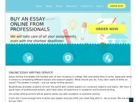 Web site and essay similar
