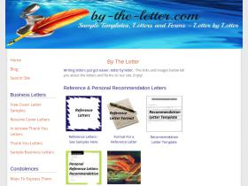 by-the-letter.com